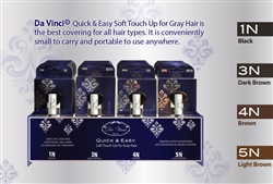 Da Vinci Daily Quick & Easy soft touch up for Gray Hair