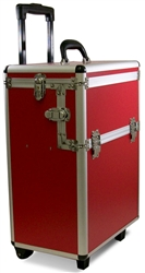 Aluminum Beauty Case w/ trolley & trays 79127