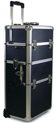 Aluminum Case w/trolley & trays 79168