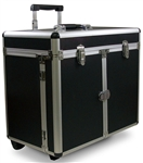 Aluminum Beauty Case with trolley & trays 97156