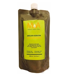 MOA ARGAN+KERATIN (Hair Treatment Mask) 13.5 fl oz/400mm