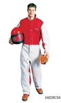 Clemco 08921 Traditional Heavy-Duty Blast Suit, Size: MEDIUM