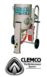 Clemco 21547 2 Cubic Foot Contractor Blast Machine Package