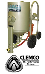 Clemco 21549 6 Cubic Foot Contractor Blast Machine Package