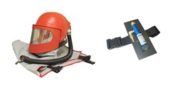Clemco 24003 Apollo 600 HP Supplied Air Respirator with Cool Air Tube