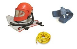 Apollo 600 HP Supplied Air Respirator with Air Control Valve & 50 Ft Respirator Hose Package