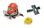 Apollo 600 HP Supplied Air Respirator with Cool Air Tube & 50 Ft Respirator Hose Package
