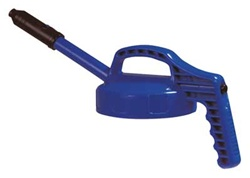 Oil Safe 100302 Stretch Spout Lid, Color: Blue