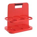 Oil Safe 300108 Cartridge Caddy - GREASE SAFE - Red