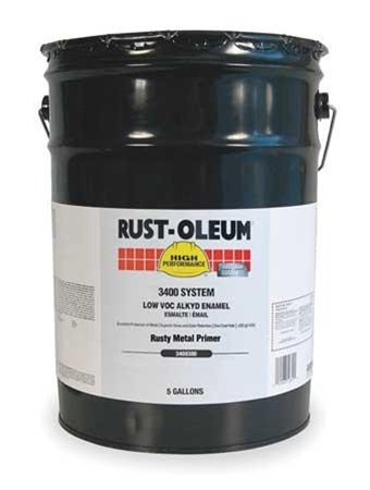 Rust Oleum 678300 Quick Dry Red Primer 5 Gal