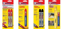 CH Hanson 10365 Red Standard Lumber Crayon-Pack of 12