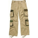 DISCONTINUED Rothco 2138 Mens Ultra Force Vintage Khaki With Woodland Camo Accent Fatigues Size: 3XL