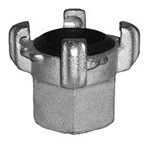"Blastline FE-125 1-1/4"" Universal 4 Lug Air Coupling, Female End"