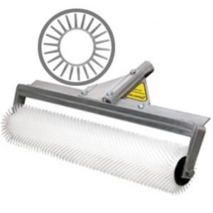 roller thà ringen midwest rake 59709 9 blunt spiked roller 13 16 aluminum