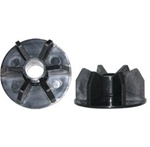 "Midwest Rake  SA30045 3/8"" Polypropylene End Caps - Set of 2"