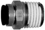 Dixon FLC2501-04-02 1//4 Flareless Bite Male Tube x 1//8 Male NPTF Adapter 90/° Elbow