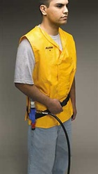 Allegro 8300 Cooling Safety Vest, Size S/M, Yellow