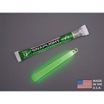 "Cyalume 9-08001 6"" SnapLight-Industrial Grade Color: Green,12 hr , 10/PK"