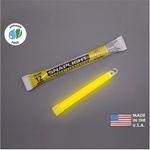 "Cyalume 9-08004 6"" SnapLight-Industrial Grade Color: Yellow,12 hr , 10/PK"