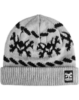 BONES WHEELS ROPE-A-DOPE BEANIE GREY