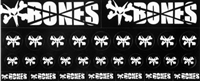 BONES WHEELS MULTIPACK STICKERS