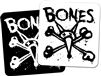 BONES WHEELS VATOS OP SQUARE STICKERS 4""