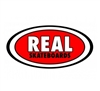 REAL SMALL STICKER - CLASSIC OVAL - RED