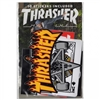 THRASHER ASSORTED PACK OF 10 STICKERS