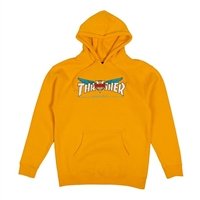 THRASHER X VENTURE COLLAB AWAKE HOODIE GOLD SMALL