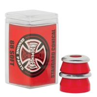 INDEPENDENT SOFT BUSHINGS CONICAL RED 88A