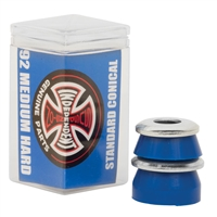 INDEPENDENT MEDIUM/HARD BUSHINGS CONICAL BLUE 92A