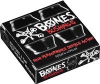 BONES HARDCORE BUSHINGS HARD BLACK/BLACK 96A + WASHERS