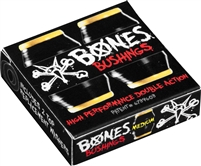BONES HARDCORE BUSHINGS MEDIUM BLACK/YELLOW 91A + WASHERS