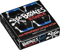 BONES HARDCORE BUSHINGS SOFT BLACK/BLUE 81A + WASHERS