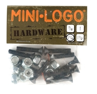 "MINI LOGO 1.25"" HARDWARE PHILLIPS SET"