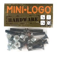 "MINI LOGO 1.50"" HARDWARE PHILLIPS SET"