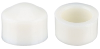 MINI LOGO PIVOT CUPS WHITE PAIR