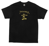 THRASHER GONZ BLACK MEDIUM