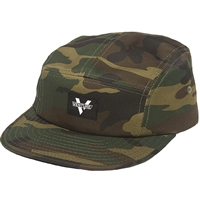 VENTURE MAINSTAY 5 PANEL HAT CAMOULFLAGE ADJUSTABLE