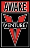 VENTURE TRUCKS MEDIUM STICKER - AWAKE - ASSORT. COLORS