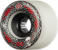 POWELL-PERALTA SNAKES 75A WHITE 66MM