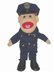 "Police Lady Puppet (14"")"