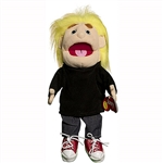 Fuzzy Boy w/ Yellow Hair Puppet