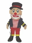 Clown w/ Hat Puppet