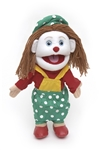 Female Clown Hand Puppet