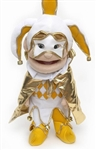 Gold Jester Hand Puppet
