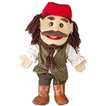 Caribbean Pirate Hand Puppet