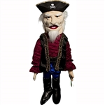"Pirate Captain Puppet (28"")"