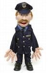 Policeman - Two Handed Puppet