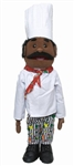 Black Chef Puppet
